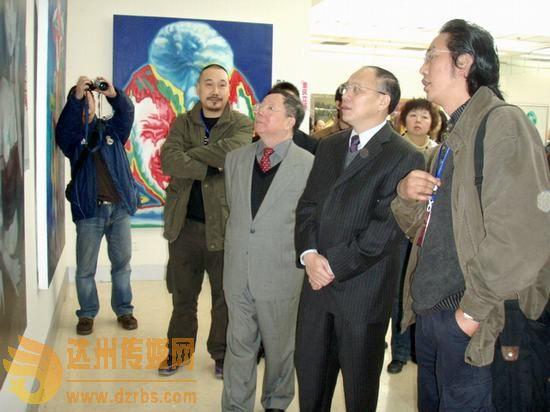 达州五青年画家画作 中国三峡博物馆展出