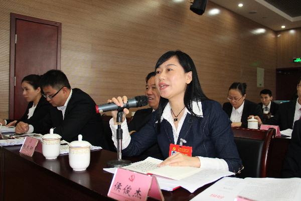 各代表团认真讨论市委和市纪委工作报告