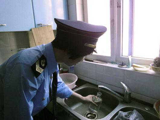 供排水公司材料不符卫生标准