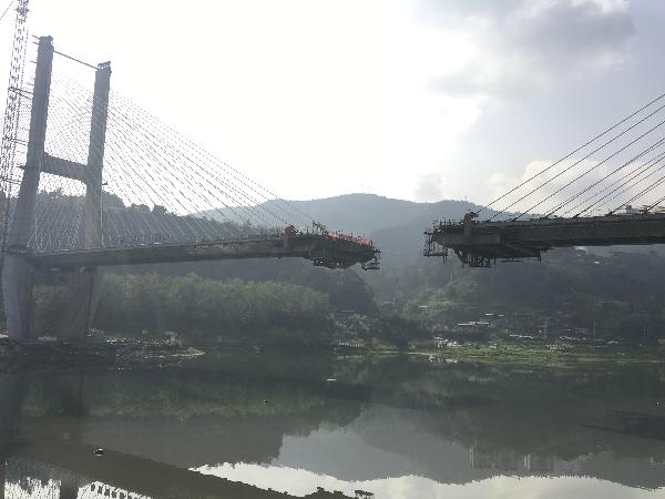 达州金南大桥_金南大桥及延线引道工程 预计6月底基本完工 - 达州日报网