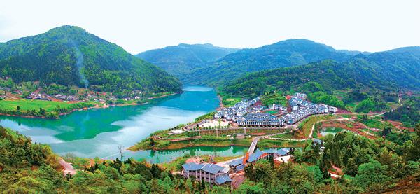 幸福美丽新村成为全域旅游靓丽名片