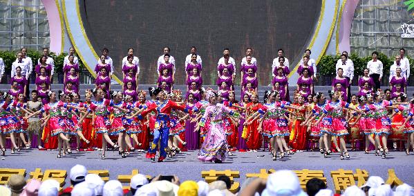 四川卫视将播出第六届全国新农村文化艺术展演闭幕式