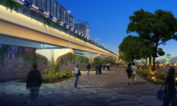 达州中心城区十大民生工程最新进展