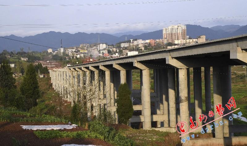 渠县火车站快速通道有望今年8月通车运行