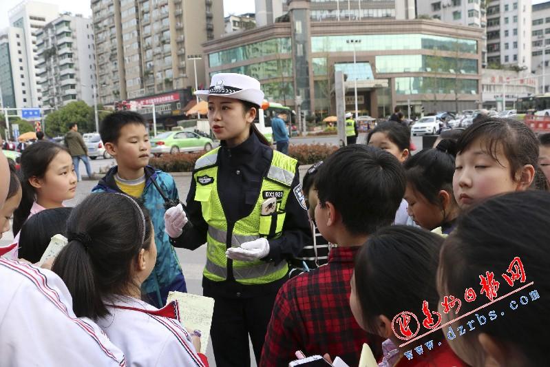 致富冷门小项目日报小记者呼吁市民遵守交通规则文明出行