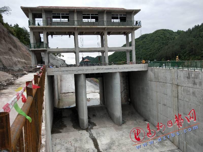 石峡子水库关键主体工程进入冲刺阶段