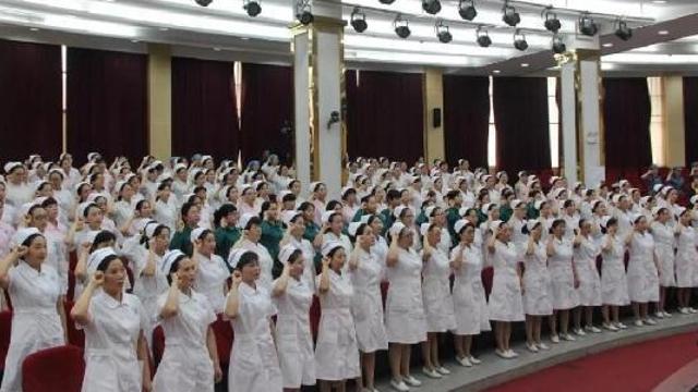 龙虎和市中中医联合医院表扬良好护士