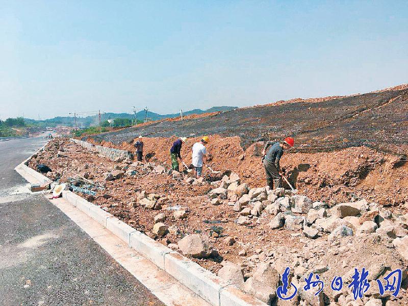 经开大道一期工程预计今年8月底完工并实现通车