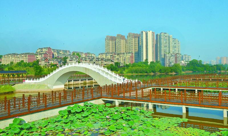 大竹县宜居城市建设渐入佳境