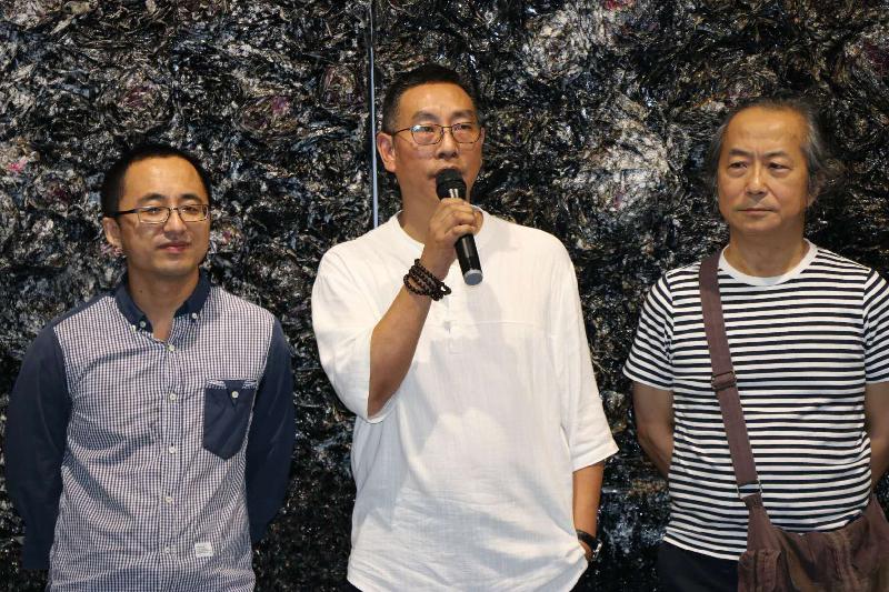 """达州籍艺术家冉启泉再推个展 """"灰烬""""亮相上海喜玛拉雅美术馆"""