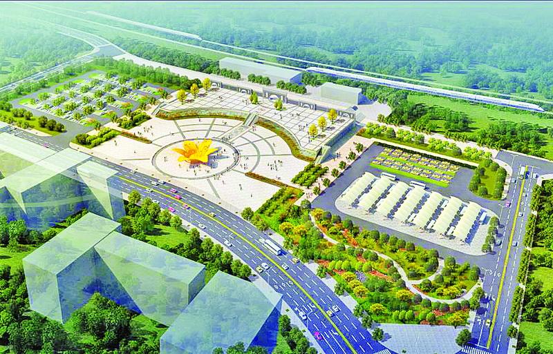 好消息!渠县火车站快速通道将于15日正式通车
