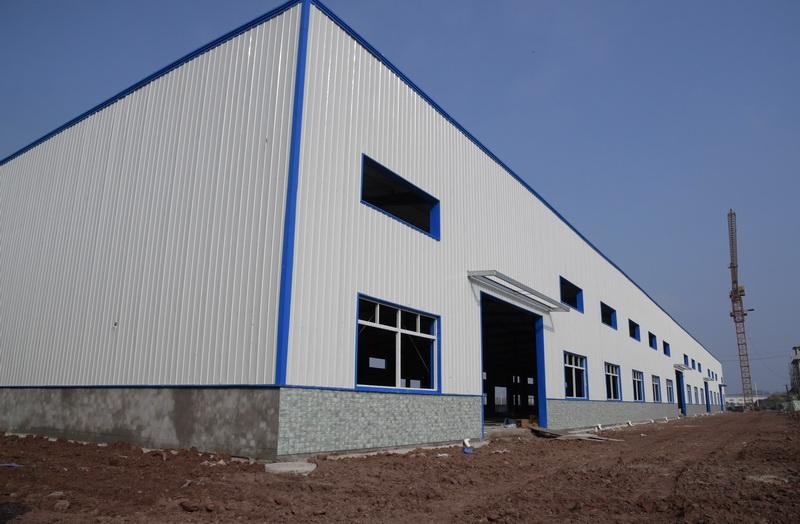 渠县大马力推进产业企业落地设置装备摆设