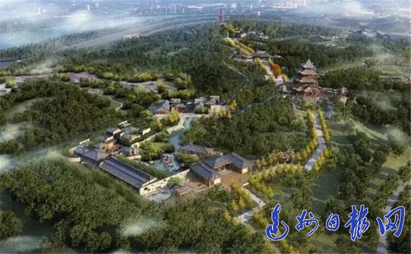 """为建""""城市书房"""",澳门金沙线上娱乐斥资7.5亿元打造文峰山公园"""