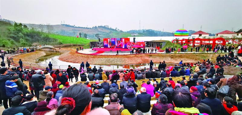 春节假期 通川区实现旅游收入1.23亿元