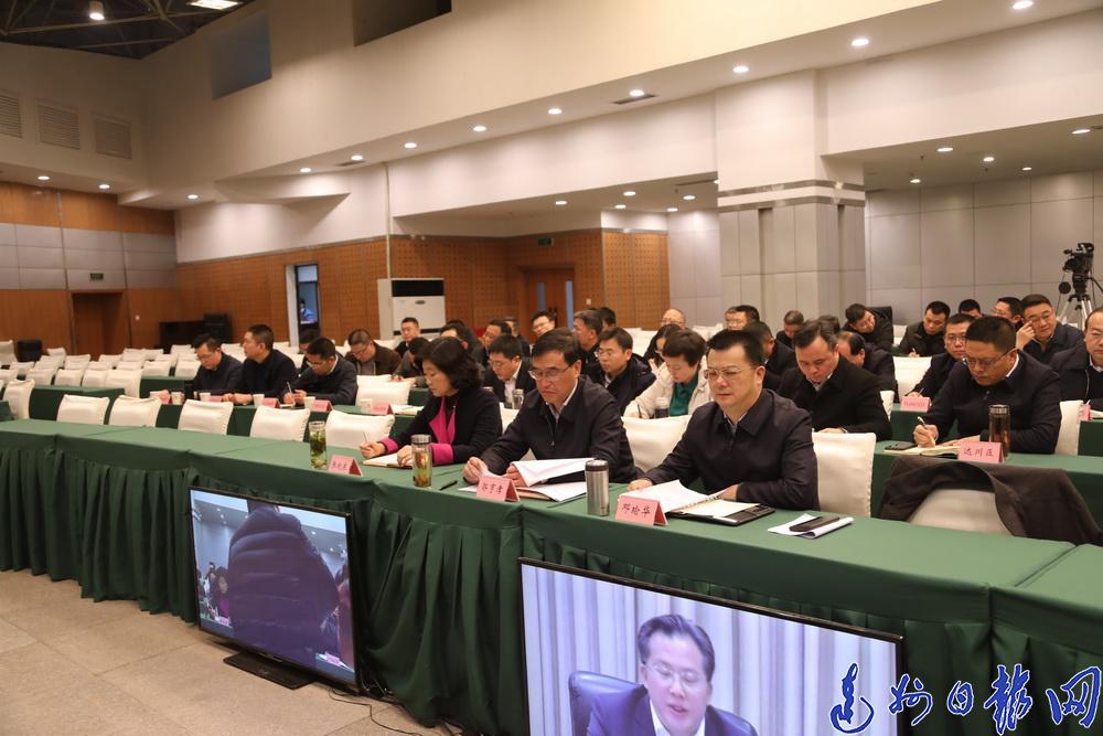 全省2019年加快推动基础设施等重点领域补短板工作电视电话会议召开