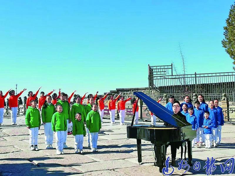 赞!达州7名孩子雪中录制2022北京冬奥会主题歌曲MV