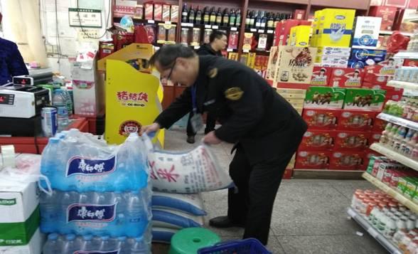 达川区某超市食品守法举动被备案查处