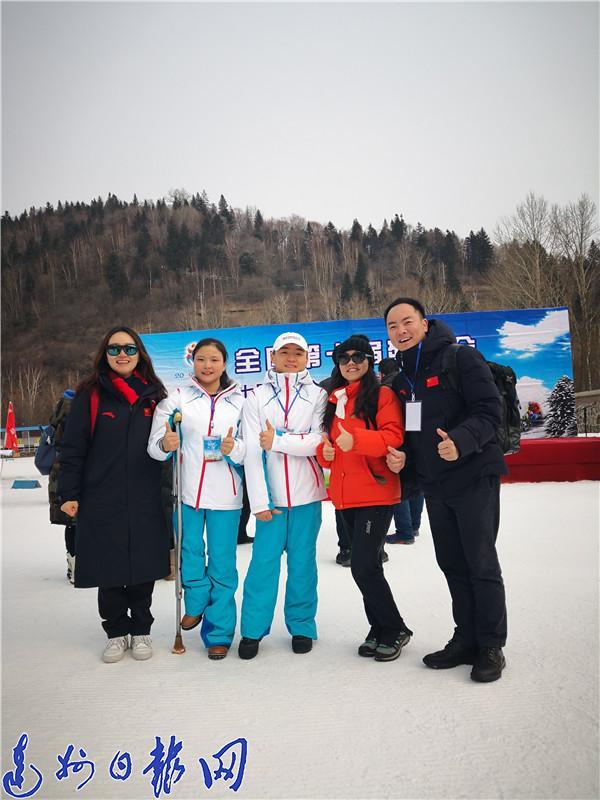 达州籍运动员杜天参加全国残运会获一金一银两铜