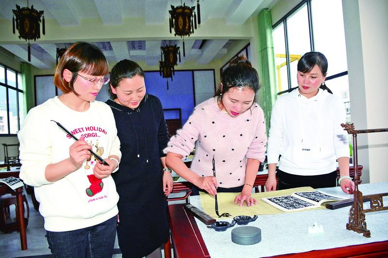 通川区一小成立多个教师社团,让教师快乐从教幸福生活