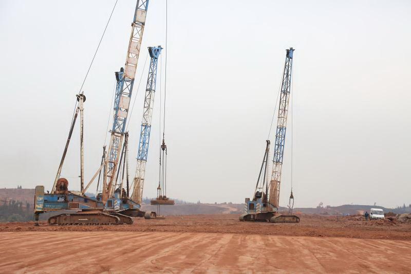 达州机场迁建项目最新进展!土石方工程预计月底基本完成
