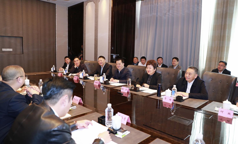 包惠在蓉会见中外知名企业四川行部分重点客商