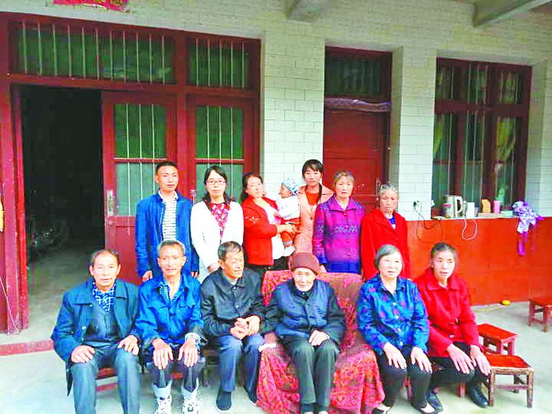 阔别故乡80年!陕西95岁老人见到开江老家的亲人了!