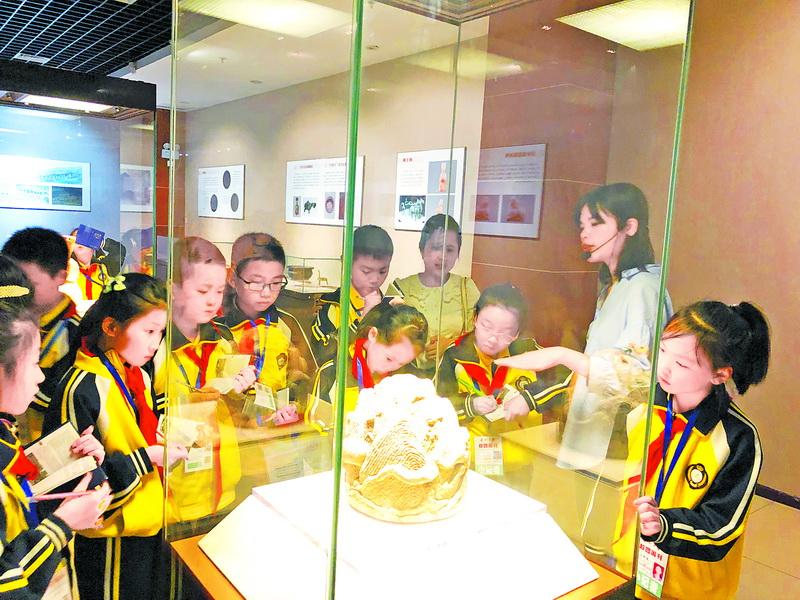 市博物馆推出活动迎接国际博物馆日!小孩来得多成年人稀少