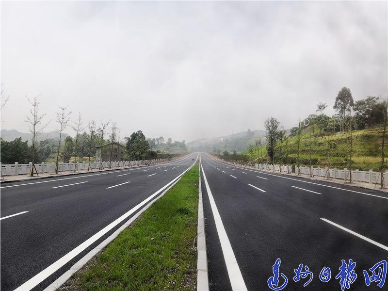 这条路已通过验收!达城到东岳、魏蒲产业园不用再绕行高速了!