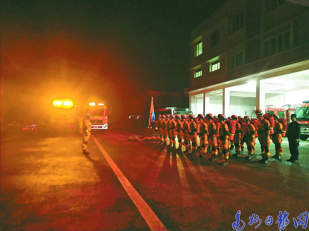 宜宾地震牵动众人心!达州救援力量完成集结随时驰援