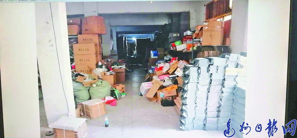 南城微商福建低价进货 全家上阵卖出200万Y货!仓库还堆了2万多件产品,全是假的!!