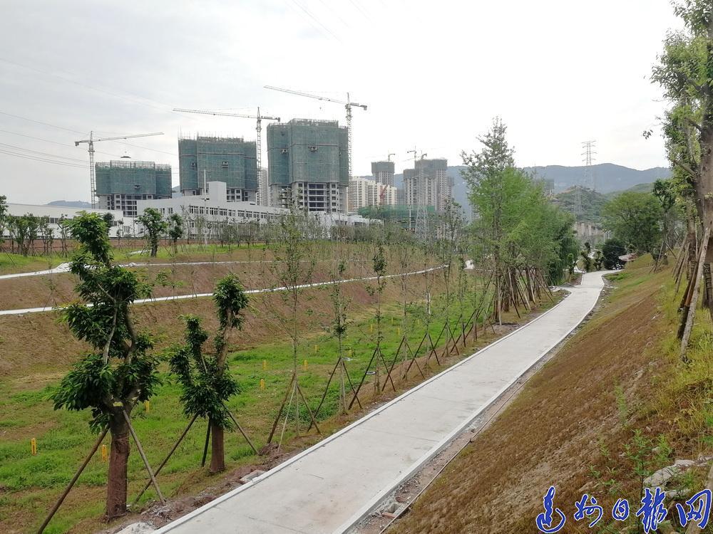 南城市民有福啦!達川區楊柳公園預計年底開放