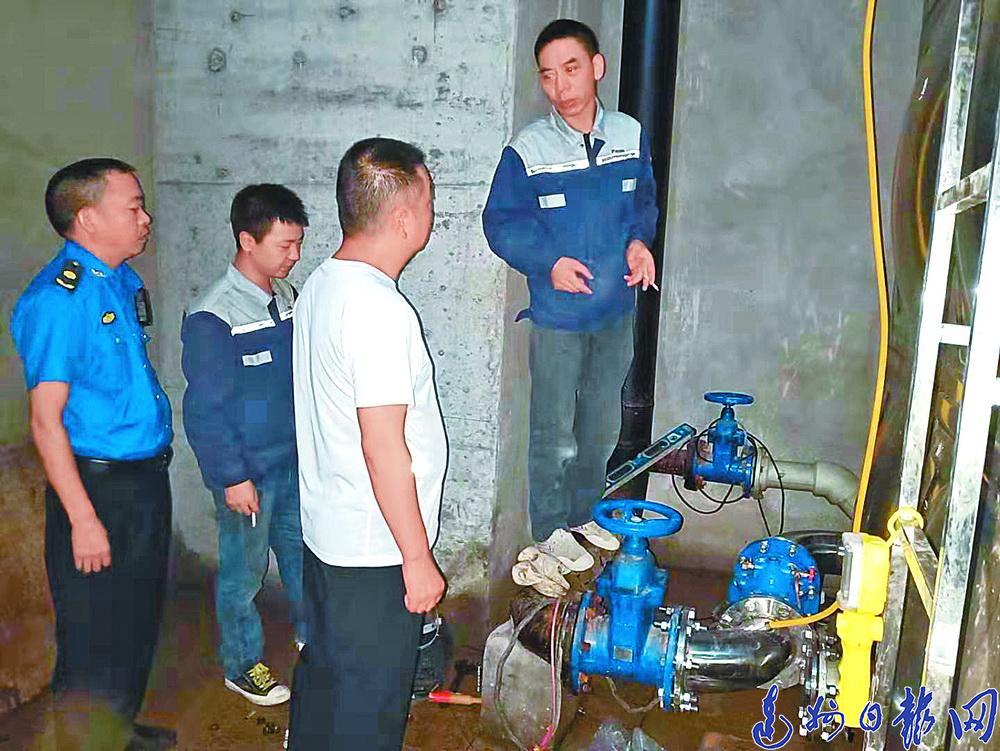 终于清静了!大竹兴光国际小区二次供水系统彻底整改