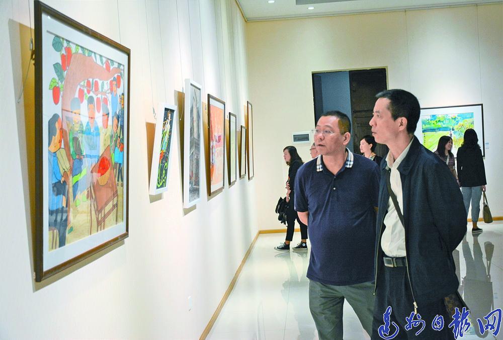 这场展出很特殊!达州首届残疾人书画艺术展开展