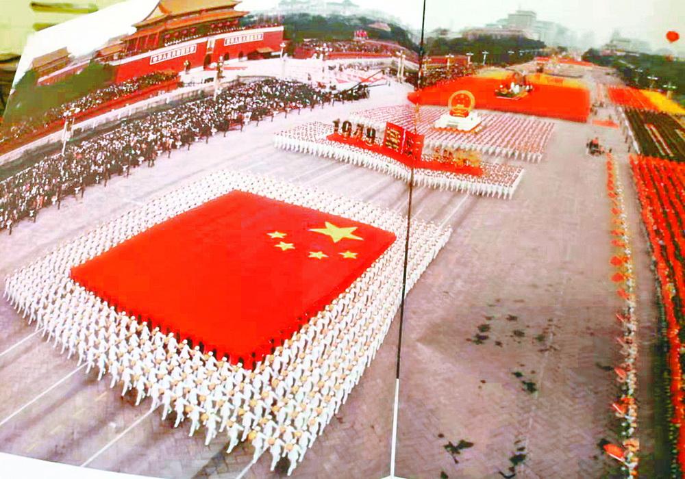 """20年前,国庆50周年大阅兵上的""""达州身影""""……"""