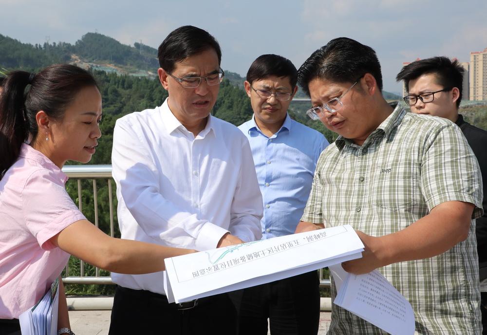 郭亨孝率队督查市本级重大项目及民生实事项目