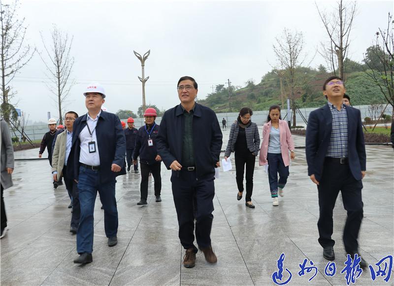 郭亨孝督查市本级重大项目及民生实事项目推进情况