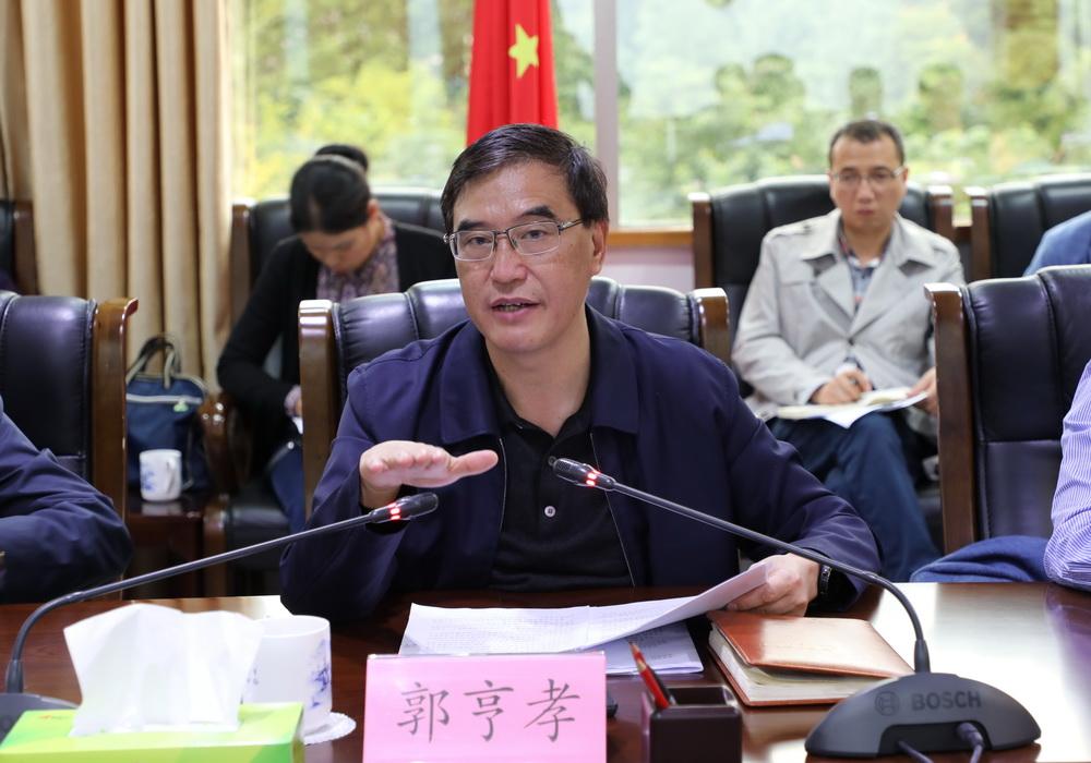 郭亨孝主持召开中心城区部分职业教育资源整合工作专题会