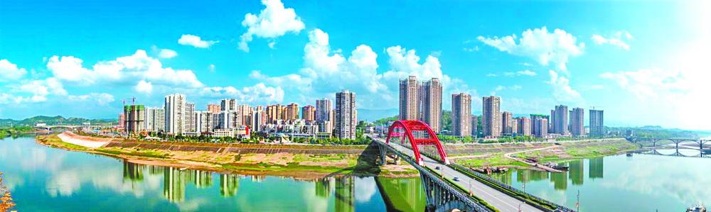 【探访母亲河③】渠县推动水环境综合治理与城市建设相融共促