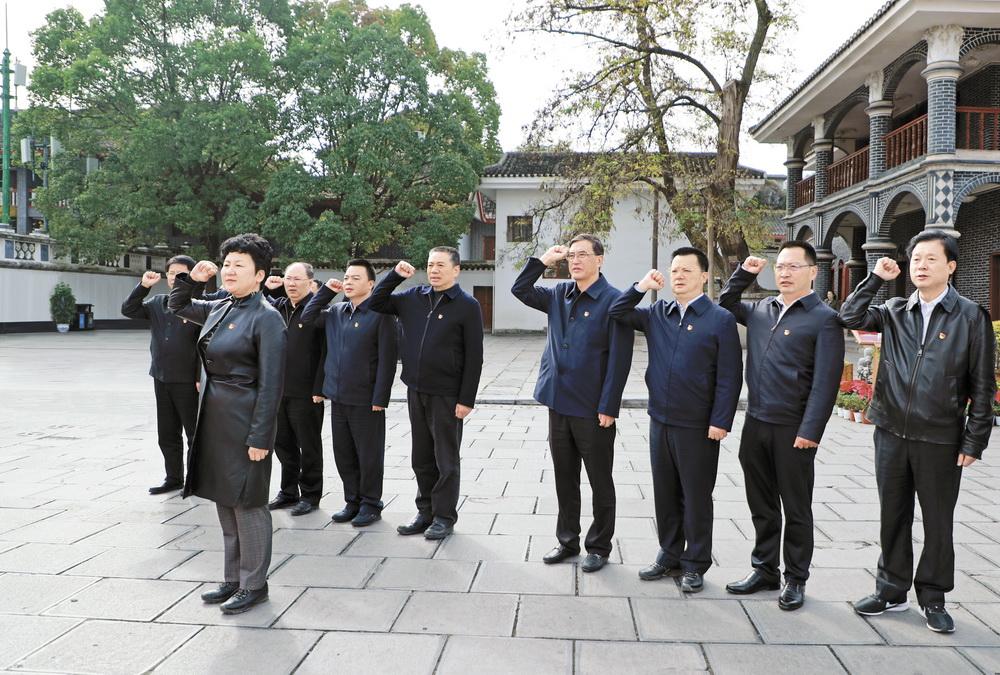 包惠率达州党政代表团赴贵州遵义市考察红色旅游工作