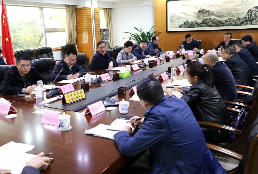 郭亨孝主持召开专题会研究部署主城区农贸市场达标升级建设