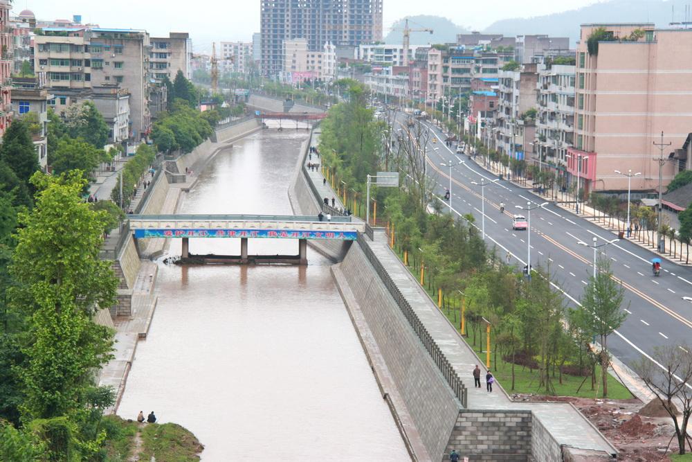 【探访母亲河④】河畅水清生态美!明月江水环境治理成效显著