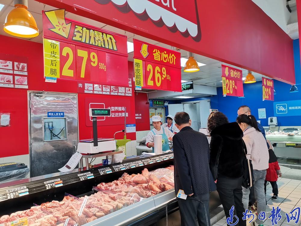 可以准备香肠腊肉了!达城猪肉价格止涨回落 每斤最高降10元