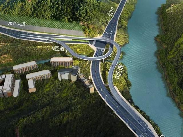 高大上!达城首座分离式立交桥启动桩基施工!