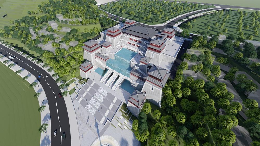 达川区巴人文化历史博物馆项目预计本月底主体基本建成