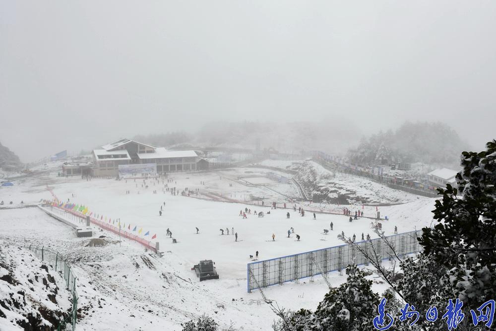 感受冰雪的柔美与激情!宣汉首届冰雪节开幕
