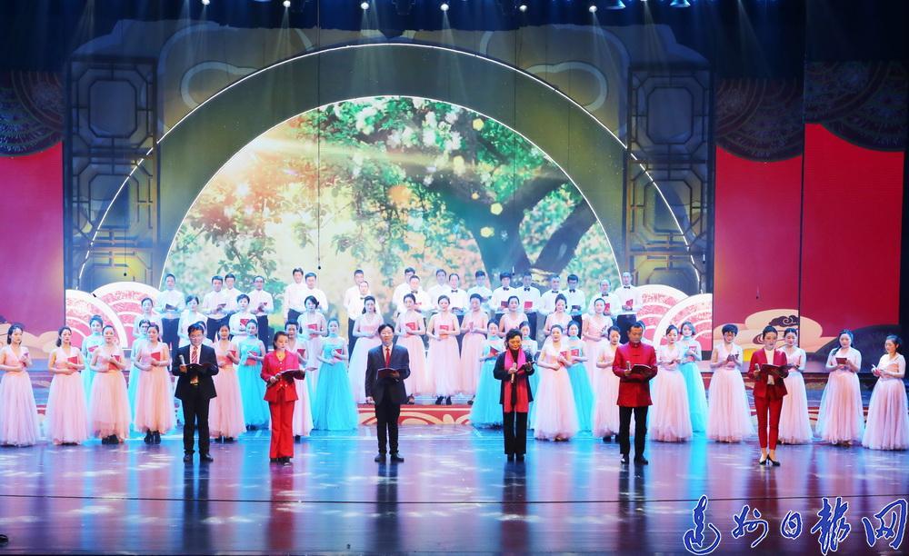 百花迎春 万紫千红!达州市文学艺术界春节大联欢浓情上演