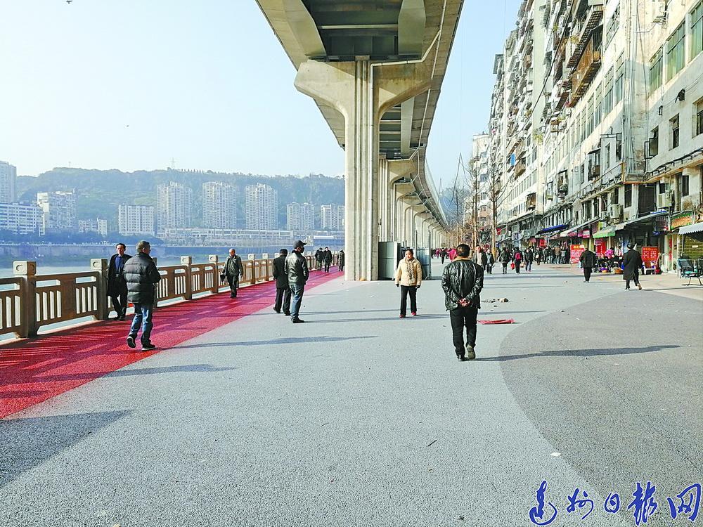 """滨河游园""""美颜""""后露脸!红旗大桥至二马路口段全面开放"""