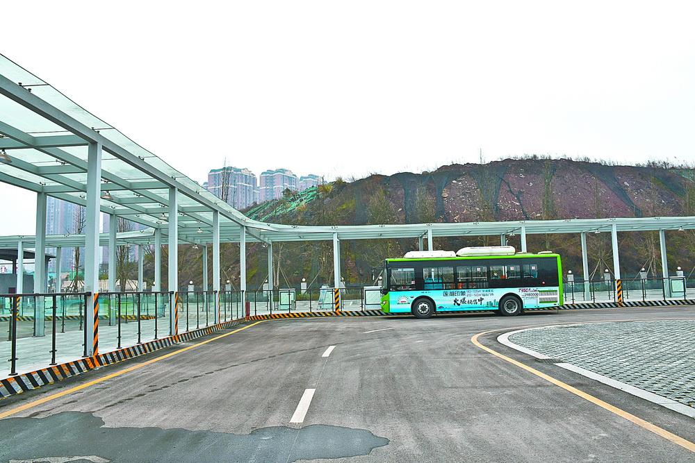 市民出行更加省心了!莲花湖和河市公交首末站22日投用