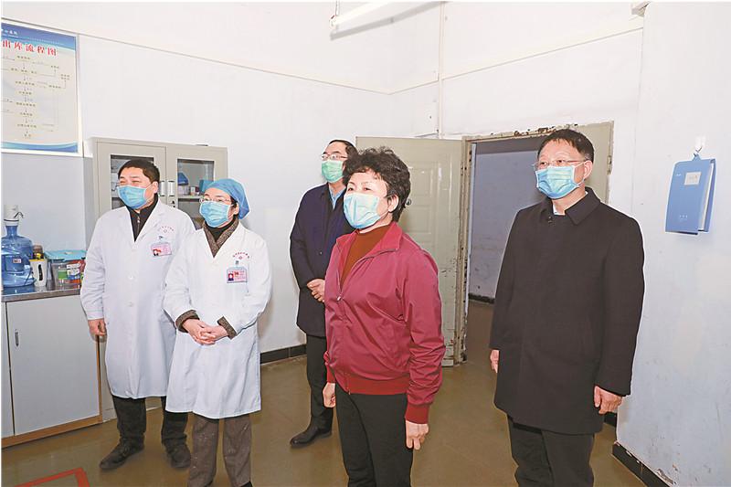 包惠:精準施策科學防治 堅決打贏疫情阻擊戰殲滅戰