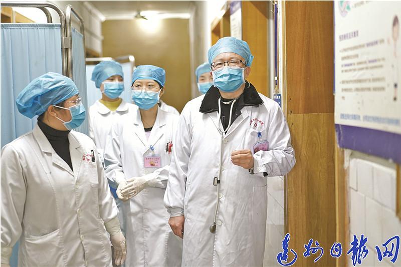 达州首批疫情防控攻坚战医务人员谭奇亮的故事